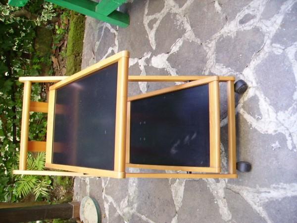 Periscopio carrello portavivande pieghevole 2 piani for Carrello portavivande foppapedretti